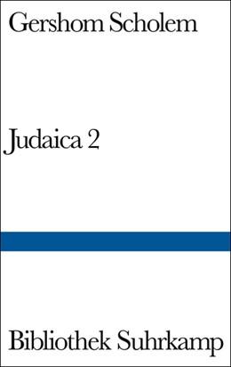 Abbildung von Scholem   Judaica II   1970   263