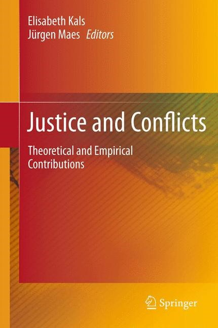 Justice and Conflicts | Kals / Maes, 2011 | Buch (Cover)