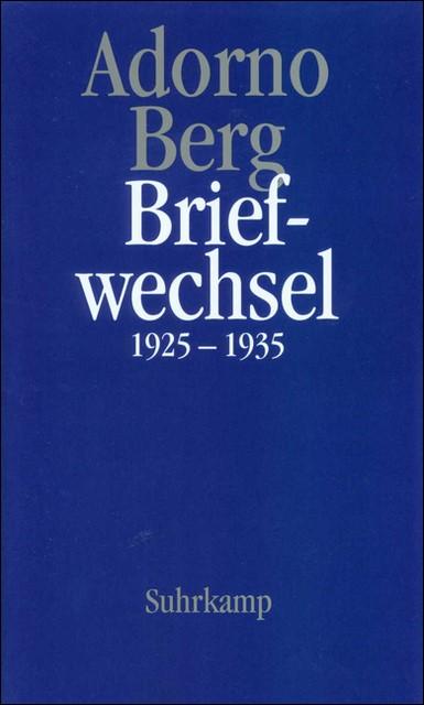 Abbildung von Adorno / Lonitz / Berg | Briefe und Briefwechsel | 1997
