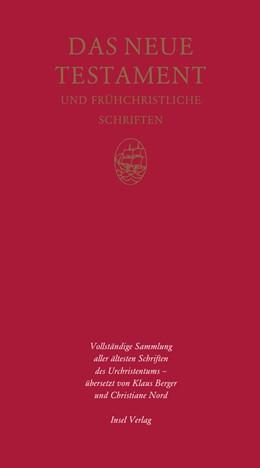 Abbildung von Das Neue Testament und frühchristliche Schriften | 2005