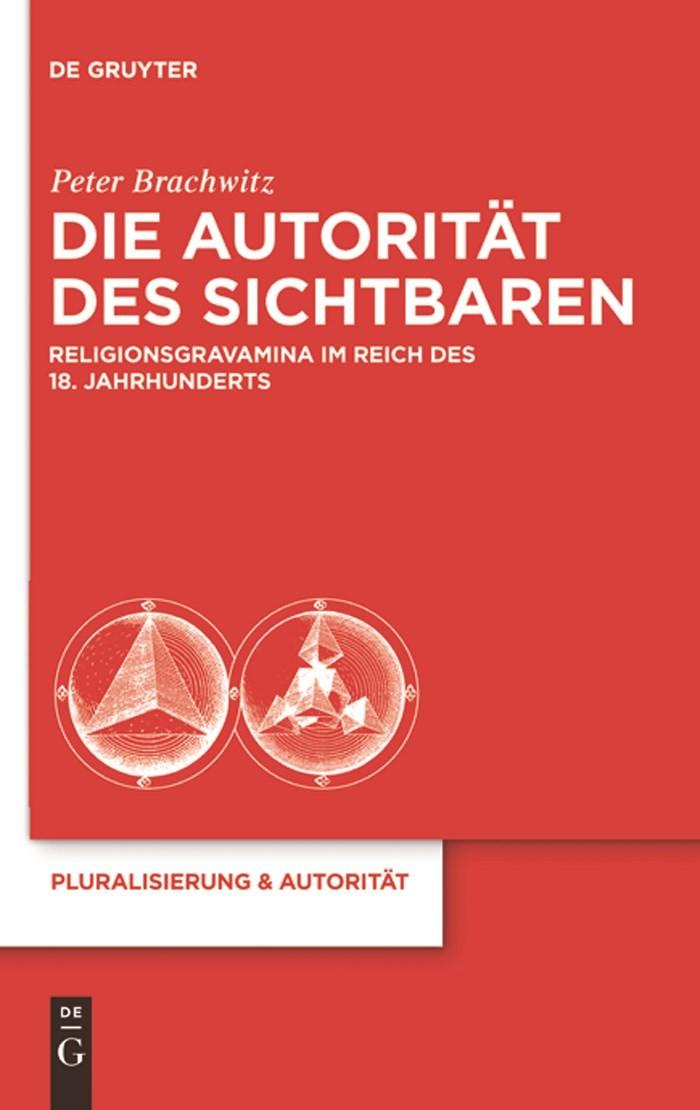 Die Autorität des Sichtbaren   Brachwitz, 2011   Buch (Cover)