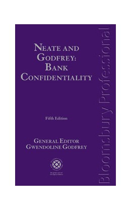 Abbildung von Godfrey | Neate and Godfrey: Bank Confidentiality | 2011