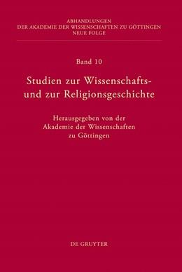 Abbildung von Studien zur Wissenschafts- und zur Religionsgeschichte | 2011 | 10