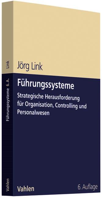 Führungssysteme | Link | 6., überarbeitete und erweiterte Auflage, 2011 | Buch (Cover)