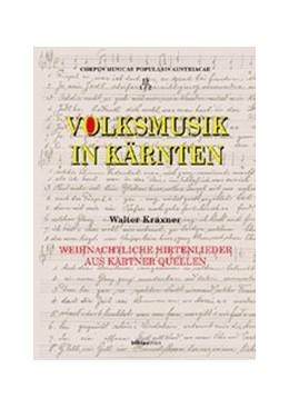 Abbildung von Kraxner | Volksmusik in Kärnten | 2002