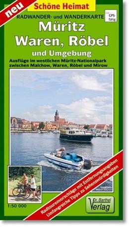 Abbildung von Müritz, Waren, Röbel und Umgebung 1 : 50 000 Radwander- und Wanderkarte | 1. Auflage | 2011 | beck-shop.de