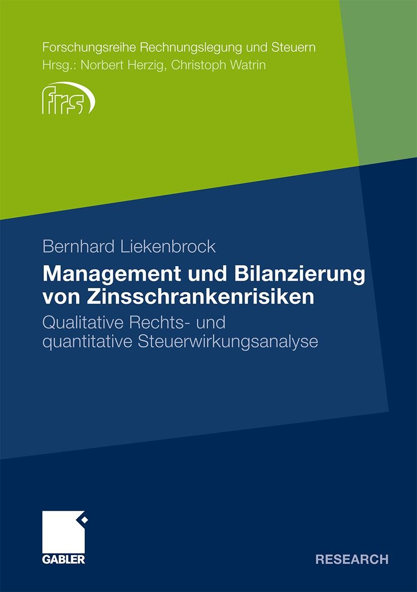 Management und Bilanzierung von Zinsschrankenrisiken | Liekenbrock, 2011 | Buch (Cover)