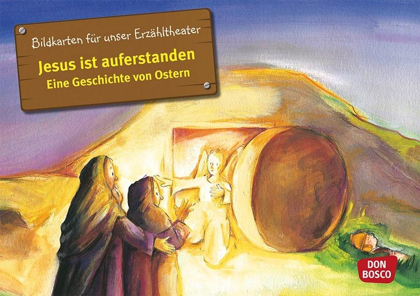 Jesus ist auferstanden. Kamishibai Bildkartenset. | Brandt / Nommensen | Nachdruck, 2018 (Cover)