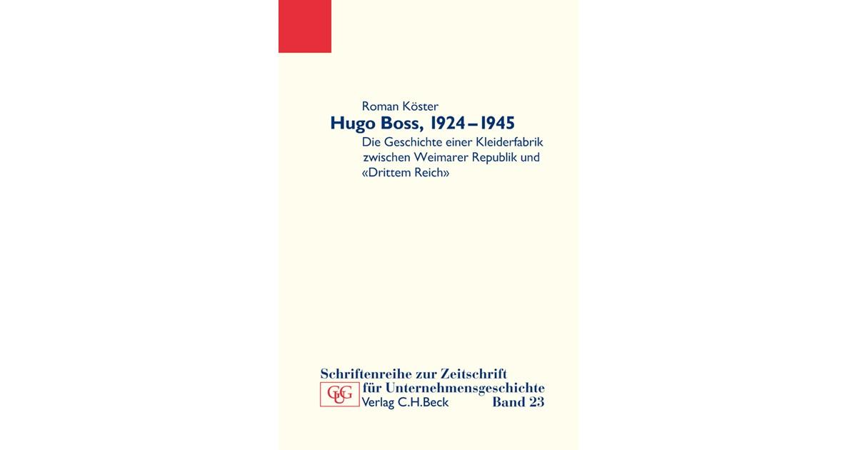 Hugo Boss, 1924-1945 | Broschur