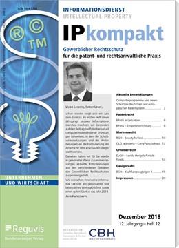 Abbildung von IP kompakt | 12. Auflage | 2021 | beck-shop.de