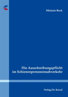 Abbildung von Bock | Die Ausschreibungspflicht im Schienenpersonennahverkehr | 2010 | 7