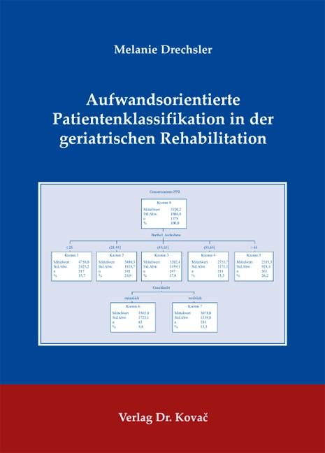 Abbildung von Drechsler | Aufwandsorientierte Patientenklassifikation in der geriatrischen Rehabilitation | 2010