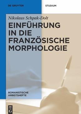 Abbildung von Schpak-Dolt | Einführung in die französische Morphologie | 3rd rev. edition | 2010 | 36
