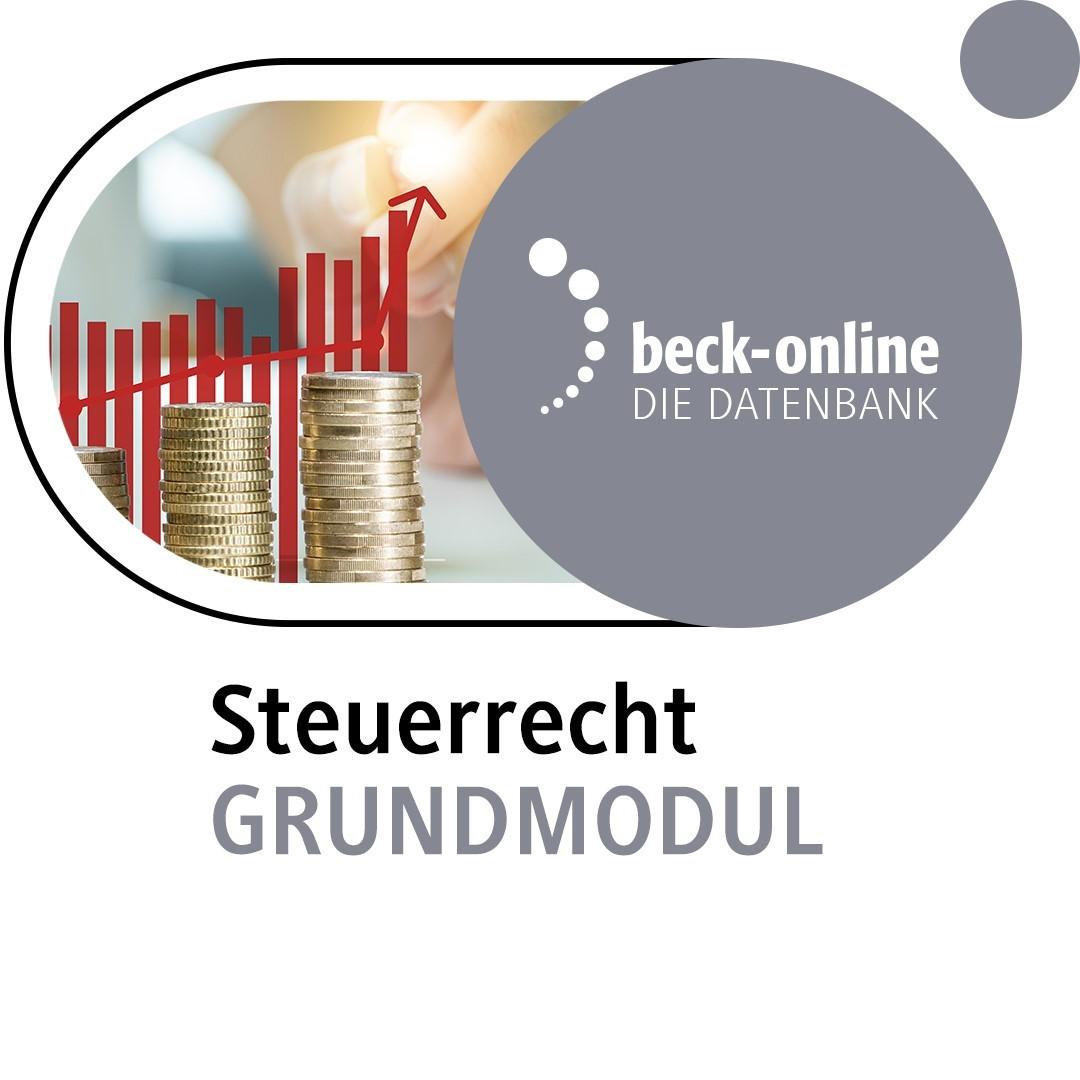 Abbildung von beck-online. Steuerrecht Grundmodul