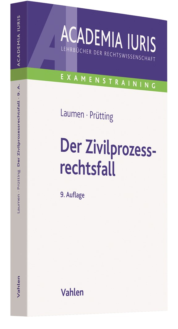 Der Zivilprozessrechtsfall | Baumgärtel / Prütting / Laumen | 2. Auflage, 2018 | Buch (Cover)