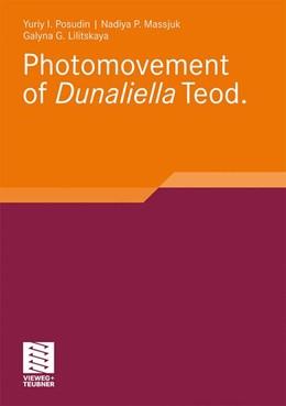 Abbildung von Posudin / Massjuk | Photomovement of Dunaliella Teod | 1. Auflage | 2010 | beck-shop.de