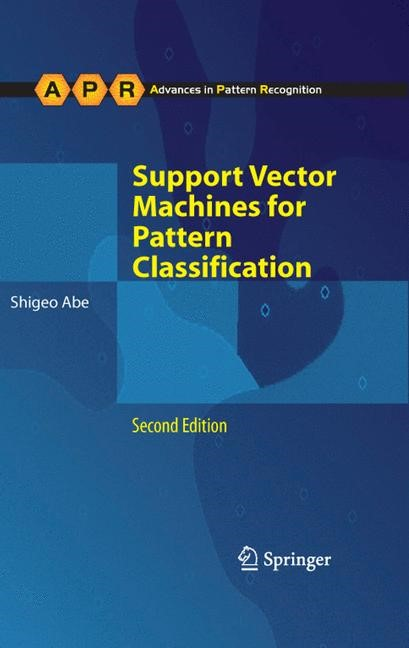 Support Vector Machines for Pattern Classification | Abe | 2nd ed., 2010 | Buch (Cover)