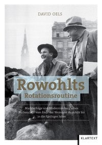 Rowohlts Rotationsroutine | Oels, 2013 | Buch (Cover)