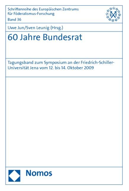 60 Jahre Bundesrat | Jun / Leunig, 2011 | Buch (Cover)