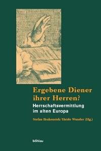 Ergebene Diener ihrer Herren? | Brakensiek / Wunder, 2005 | Buch (Cover)