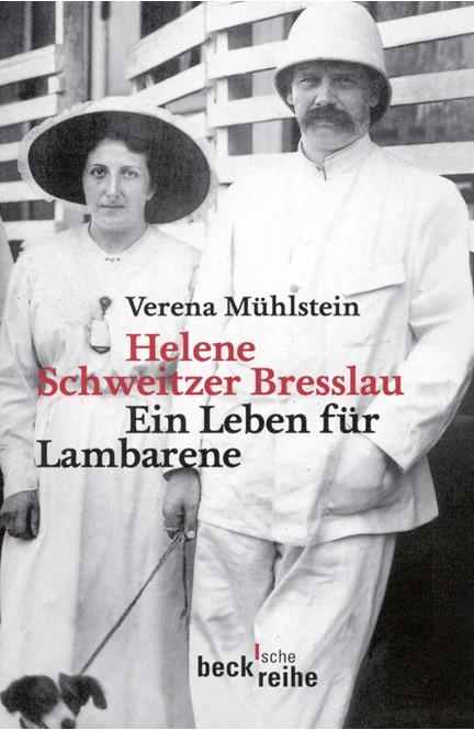Cover: Verena Mühlstein, Helene Schweitzer Bresslau