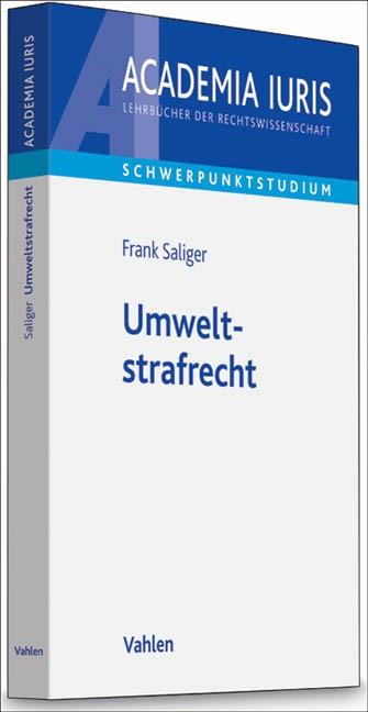 Umweltstrafrecht | Saliger, 2012 | Buch (Cover)