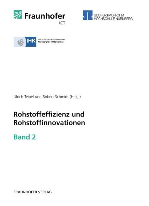 Abbildung von / Teipel / Schmidt | Rohstoffeffizienz und Rohstoffinnovationen | 2011