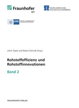 Abbildung von / Teipel / Schmidt | Rohstoffeffizienz und Rohstoffinnovationen | 2011 | Band 2