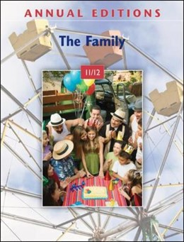 Abbildung von Gilbert   Annual Editions: The Family 11/12   2010