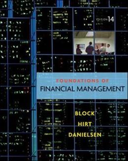Abbildung von Block / Hirt / Danielsen   Foundations of Financial Management with Time Value of Money card   2011