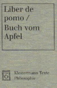 Liber de pomo / Buch vom Apfel | Acampora-Michel, 2001 | Buch (Cover)