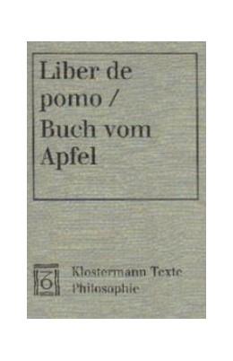 Abbildung von Acampora-Michel | Liber de pomo / Buch vom Apfel | 2001 | Text lateinisch-deutsch. Einge...