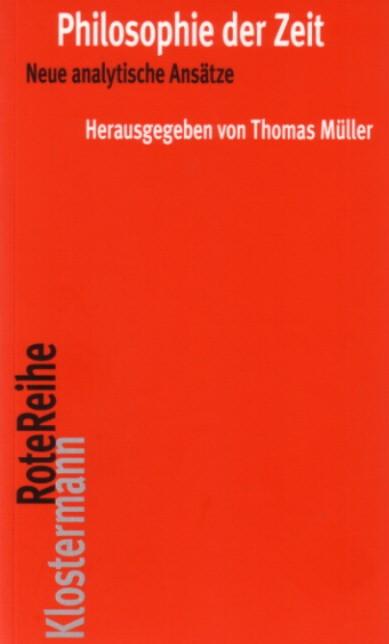 Philosophie der Zeit | Müller, 2007 | Buch (Cover)
