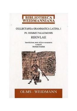 Abbildung von Morelli / DeNonno | Collectanea grammatica latina | 2001 | Ps. Remmii Palaemonis Regulae | 6/1