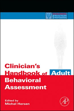 Abbildung von Hersen | Clinician's Handbook of Adult Behavioral Assessment | 2005