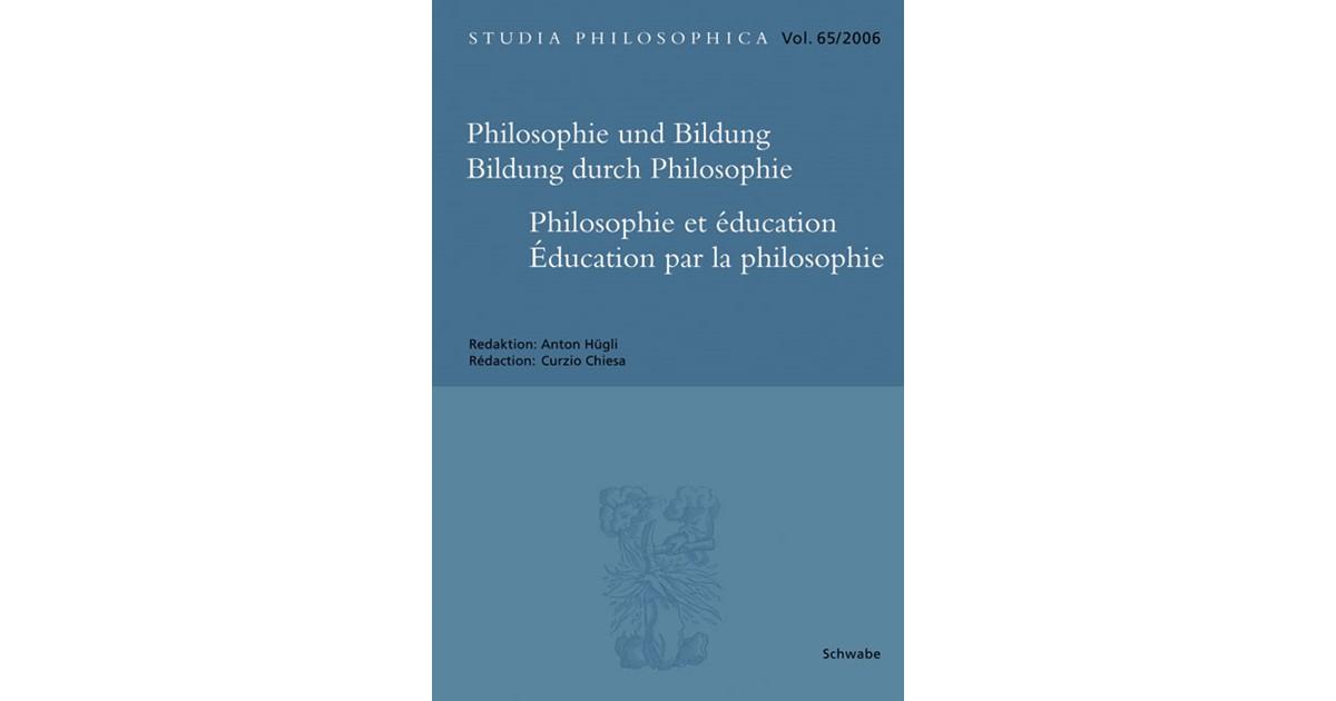 Philosophie und Bildung. Bildung durch Philosophie, 2006   Buch ...