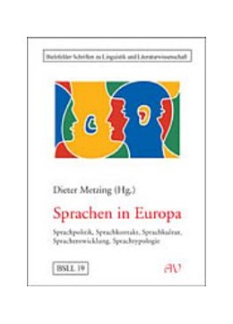 Abbildung von Metzing | Sprachen in Europa | 2003 | Sprachpolitik, Sprachkontakt, ... | 19