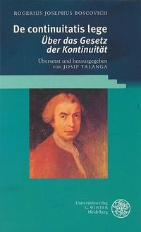 De continuitatis lege | Boscovich, 2002 | Buch (Cover)