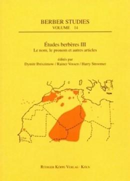Abbildung von Ibriszimow / Vossen / Stroomer | Études berbères III | 2006 | Le nom, le pronom et autres ar... | 14