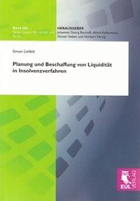 Planung und Beschaffung von Liquidität in Insolvenzverfahren   Lixfeld, 2010   Buch (Cover)
