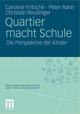 Abbildung von Fritsche / Rahn   Quartier macht Schule   1. Auflage   2011   5   beck-shop.de