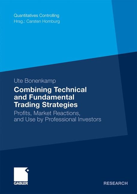 Combining Technical and Fundamental Trading Strategies | Bonenkamp | With a preface by Prof. Dr. Carsten Homburg, 2010 | Buch (Cover)