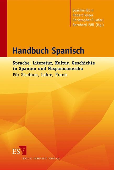 Handbuch Spanisch   Born / Folger / Laferl / Pöll, 2011   Buch (Cover)