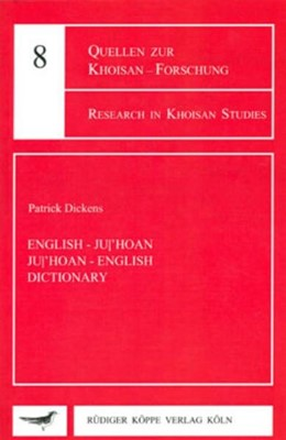 Abbildung von Dickens | English-Ju/'hoan – Ju/'hoan-English Dictionary | | 8