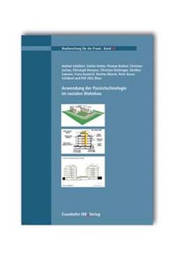 Abbildung von Schöberl / / Hutter | Anwendung der Passivtechnologie im sozialen Wohnbau | 2005 | 68