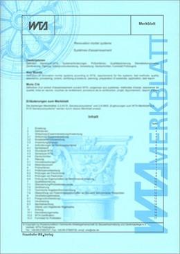 Abbildung von Natursteinrestaurierung nach WTA III: Steinergänzung mit Restauriermörteln und Steinersatzstoffen. Ersatz für Merkblatt 3-6-93/D | 1997 | WTA Merkblatt 3-11-97/D. Deuts...