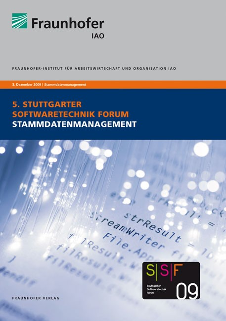 Stammdatenmanagement   / Spath / Weisbecker / Kokemüller, 2009   Buch (Cover)