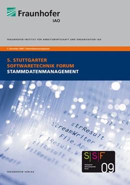 Abbildung von / Spath / Weisbecker / Kokemüller | Stammdatenmanagement | 2009 | Tagungsband des Stuttgarter So...