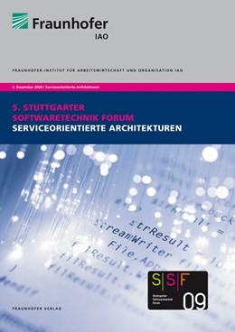 Abbildung von / Spath / Weisbecker / Drawehn | Serviceorientierte Architekturen | 2009 | Tagungsband des Stuttgarter So...