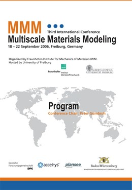 Abbildung von / Gumbsch | Proceedings of the Third International Conference Multiscale Materials Modeling | 2006 | 18 - 22 September 2006, Freibu...